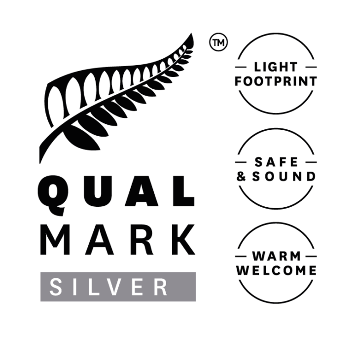Puhoi River Kayaks - Qualmark Silver Award Logo